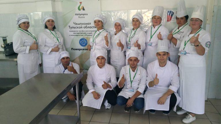 Работа на площадках III Регионального чемпионата Тульской области «Абилимпикс»