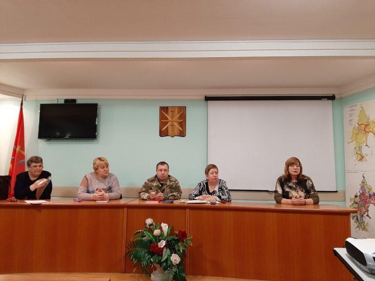 Заседание ЗТМ КДНиЗП МО Тула по теме: «Организация досуга и занятости несовершеннолетних»