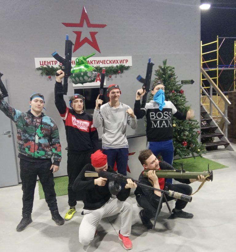 Посещение Центра военно-тактических игр г. Тулы